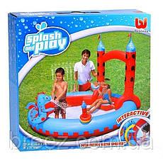 Детский надувной центр BestWay 53037 Замок Дракона 221 х 150 см , фото 3
