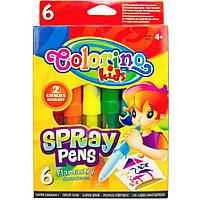 Фломастеры Colorino 51875PTR/1 6цветов воздушные