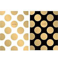 Блокноты в мягких обложках Школярик A5-GB-050-809L линия А5 50л на склейке кар/обкл, крем/блок, тисн/фольга