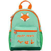 Рюкзак Kite17 K17-534XS-2 салатовый дошкольный 534 Cute Foxes