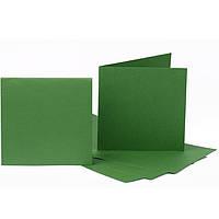 Набор заготовок для открыток Fabriano 94099058 темно-зеленый 5шт, 16,8х12см, №11,220г/м2