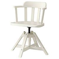 FEODOR Вращающееся легкое кресло, белый