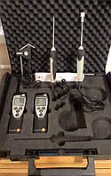 Комплект термогигрометр Testo 625 и термометр с 3 сменными зондами Testo 922 (-50…+1 000 °C) в Кейсе. Германия