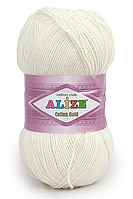 Alize Cotton Gold 62 светло-молочный