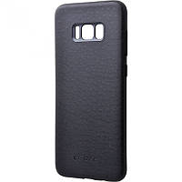Панель G-Case Leather Skin для Samsung Galaxy S8 Plus Black