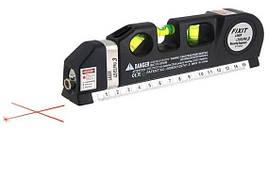 Лазерный уровень нивелир Fixit Laser Level Pro PR0 2 в 1: лазерный уровень, жидкостный уровень