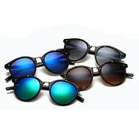 Солнцезащитные очки  круглые унисекс
