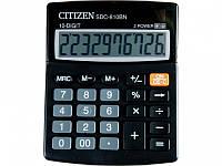 Калькуляторы бухгалтерские Citizen SDC-810BN серый 10 разряд, 100х125х34, пласт корп, пласт кн