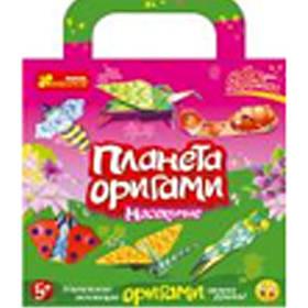 """Набор бумага+картон Ранок 14101003Р 20х25 """"Насекомые"""" 6 шт оригами"""