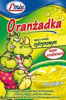 Напиток шипучий растворимый Oranzadka лимон Emix Польша 16г