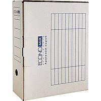 Папки-архиваторы Economix E32704-14 белый 100 мм короб архивный картонный