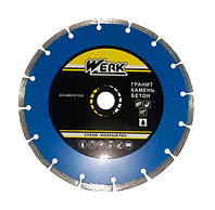 Алмазный диск Werk Segment (180*7*22.2мм)