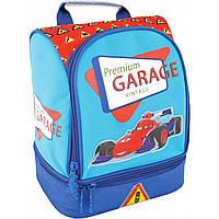 "Рюкзак CF17 CF85814 голубой 24х20х17 см ""Garage"" полиэстер, 2 отд., регулируемые лямки, термоткань, 250гр."