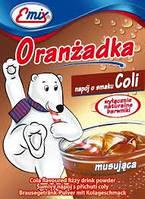 Напиток шипучий растворимый Oranzadka Кола Emix Польша 16г