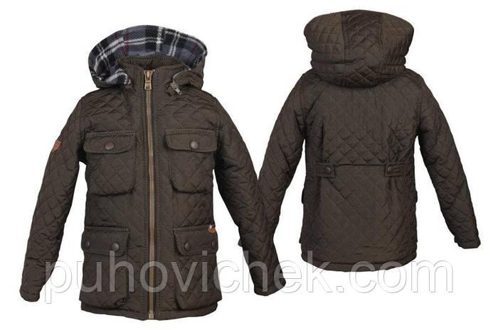Детская куртка для мальчика осень весна модная