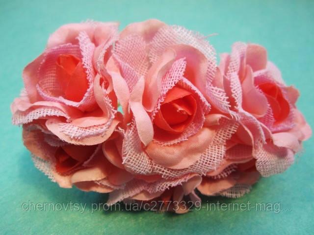 "Роза ""Двухцветная"" уп. 36 шт. Персиковая"