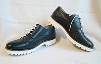 Туфли женские броги Mark Adam. Размер 38 (EUR 39).