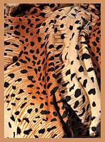 Плед-простынь-покрывало облегченный из микрофибры Шкура-точки 160*210, 200*220, Польша