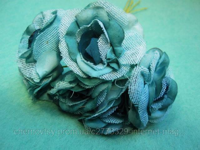 """Роза """"Двухцветная"""" уп. 36 шт. Мятная"""