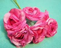 """Роза """"Двухцветная"""" уп. 36 шт. Розовая"""