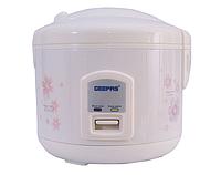 Электрическая рисоварка мультипароварка Geepas GS25 Electric Cooker 2,5 литра
