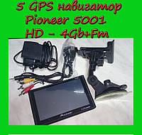 5 GPS навигатор Pioneer 5001 HD - 4Gb+Fm