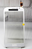 Тачскрин (Сенсор дисплея) Samsung i9082 Galaxy Grand Duos белый H/C
