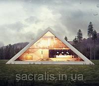 Дом пирамида