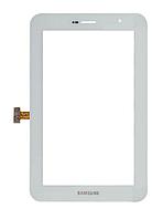 Оригинальный тачскрин / сенсор (сенсорное стекло) для Samsung Galaxy Tab 7.0 Plus P6200 | P6210 (белый цвет)