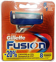 Сменная кассета Gillette Fusion, 8 шт