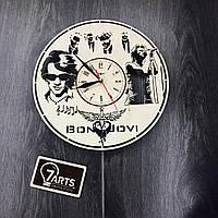 Часы настенные «Bon Jovi», натуральное дерево
