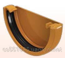 Заглушка желоба - Водосточная система Devorex Classic 120 (Деворекс Классик 120)