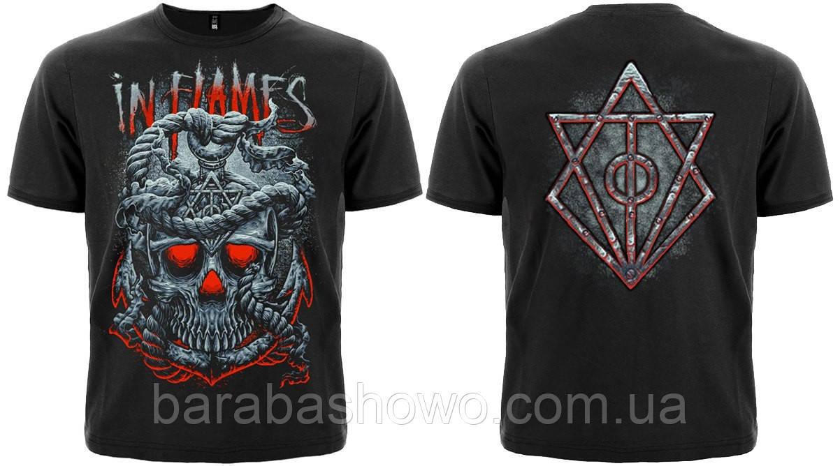 "Рок футболка In Flames ""Through Oblivion"""