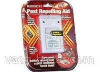 Действуйщий универсальный ультразвуковой отпугиватель насекомых и грызунов Pest Repelling Aid