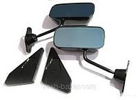 Спортивные универсальные автомобильные зеркала F1 PROSPORT «F1-style» - черные