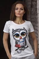 """Футболка женская OPIUM - """"Owl"""""""