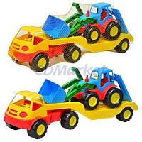 Mochtoys Акция! Детский игрушечный трейлер Mochtoys 5338. Скидка 10 % при покупке двух машинок одной модели! Спешите, количество товара ограничено!