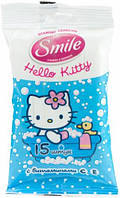Влажные салфетки Hello Kitty 15 шт