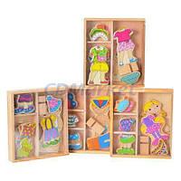 Woody Акция! Детская развивающая игрушка Woody MD 0528 Гардероб. 1+1=3 3-я игрушка в подарок! Спешите, количество товара ограничено!