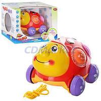 Play Smart Акция! Детская каталка на веревочке Play Smart 7573. Скидка 7 % при покупке двух игрушек! Спешите, количество товара ограничено!