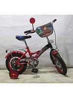 Велосипед TILLY Пожежник 16 T-21627 black + red