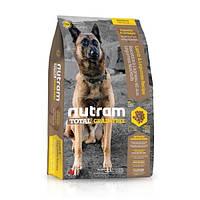 Корм беззерновой с ягненком Nutram T26 Total Grain-Free Lamb & Lentils Dog для собак, 13,6 кг
