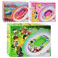 BestWay Акция! Детский надувной плотик BestWay MS 0633. Скидка 3 % на насос, ремкомплект и товары для пляжа при покупке плотика! Спешите, количество