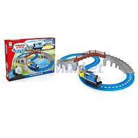Toys Акция! Детский игровой набор железная дорога Toys 660-47. Тотальная распродажа! Количество товара ограничено! (до 22.07.2017)