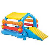 Intex Акция! Детский игровой центр Intex 58294. Скидка 4 % на насос, ремкомплект и шарики при покупке игрового центра! Спешите, количество товара