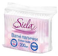 Ватные палочки Siela 200 шт