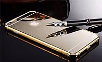 Чехол для Iphone 5s - зеркальный металлический