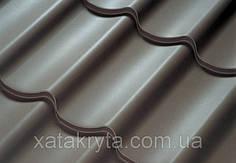 Металлочерепица Прушински Шафир 350 , 400, РЕМА толщина 0.5мм