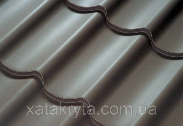Металлочерепица Прушински Шафир 350 , 400, РЕМА толщина 0.5мм, фото 2