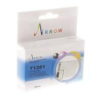 Струйный картридж Arrow T1281 Цвета: Black (T1281) Совместимость: Epson Stylus SX125 / SX420W / SX425W, Ресурс